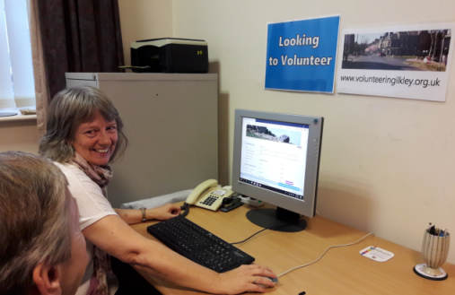 Lorraine, new Volunteer Development Worker for Ilkley