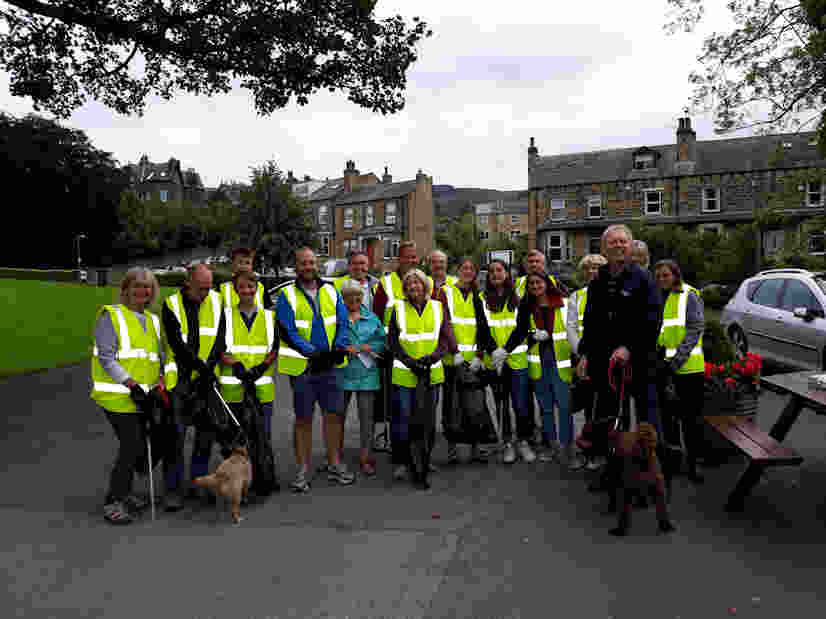 Friends of Ilkley Riverside Parks Litter Picking