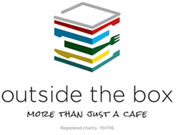 Outside the Box Cafe Ilkley logo